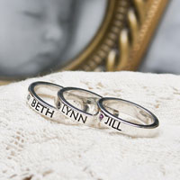 Mothers Stacking Rings