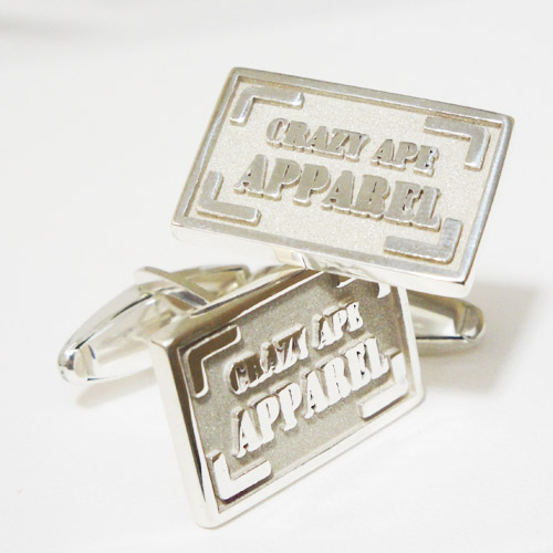 Custom Corporate Logo Cuff Links